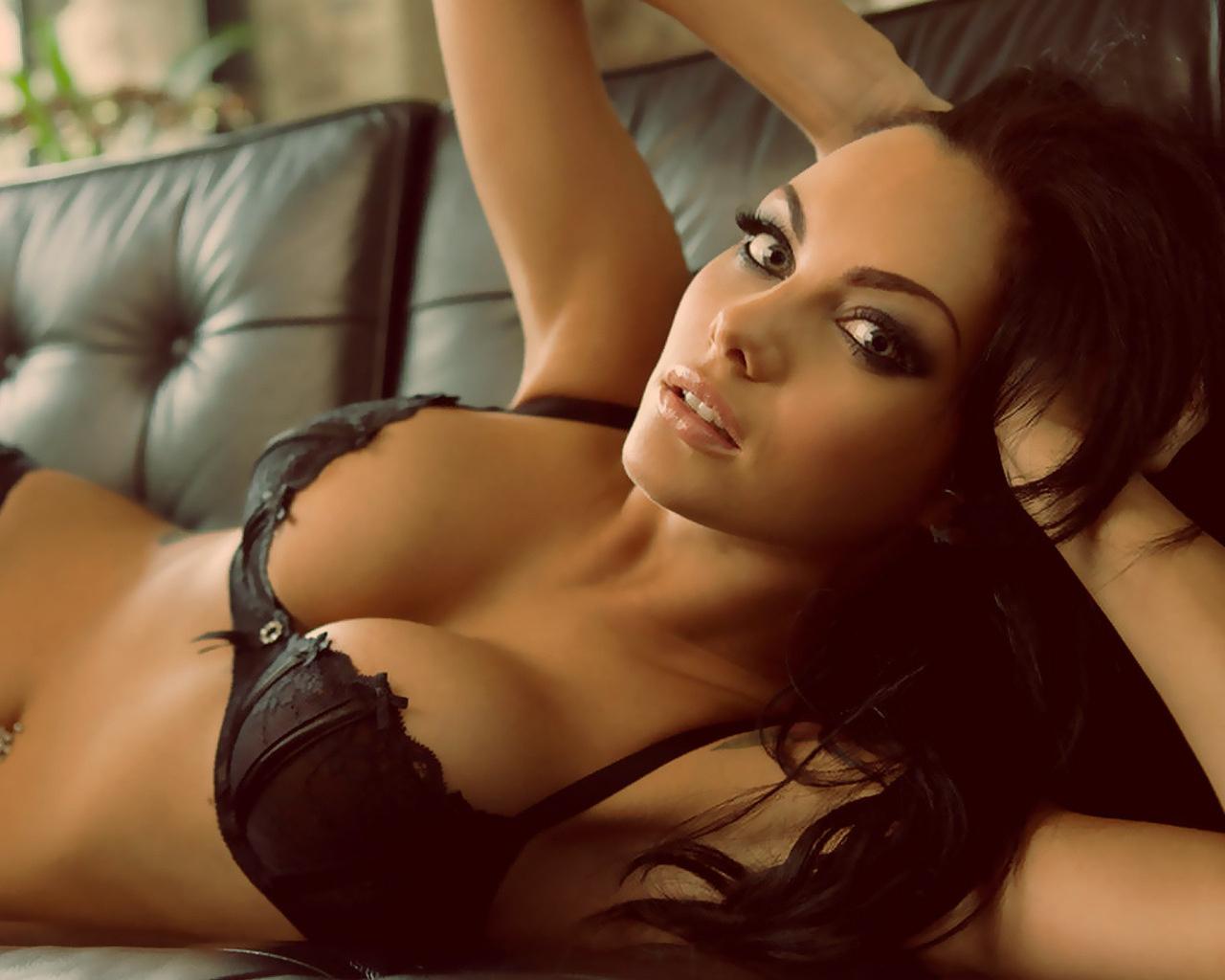 Красивая сексуальная грудь