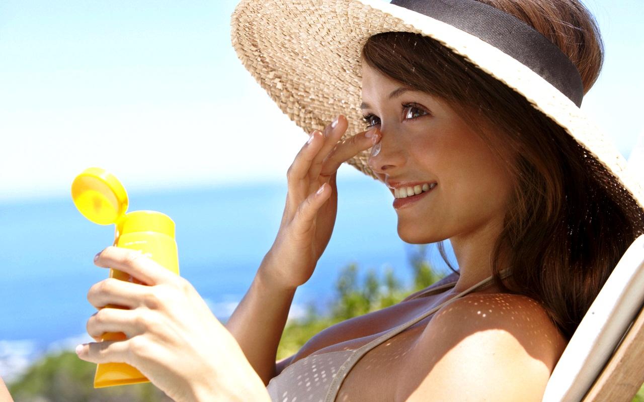 Крем солнцезащитный осветляющий, 50 г (The Saem)