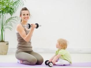 Как похудеть после беременности - секрет тут!