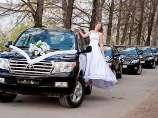 Кортеж для свадьбы