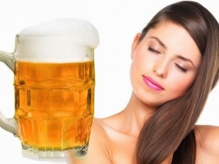 Маски для волос из пива