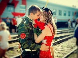 Парень уходит в армию – как его дождаться?