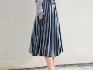Плиссированная юбка - вневременная деталь гардероба