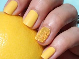 Как избавиться от желтых ногтей?