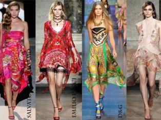 Летние платья 2012 – смотрим!