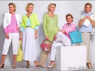 Мода для женщин бальзаковского возраста
