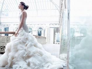 Модные тренды свадебных платьев 2011-2012