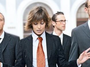 Работа в мужском коллективе